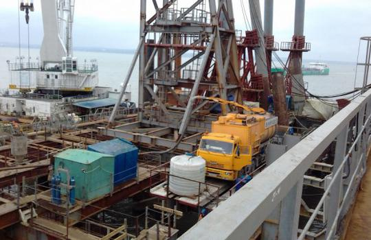 Federal facility «Construction of transport passage across the Kerch Strait»