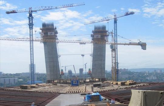 Engineering support of construction at the facility: «Bridge crossing over Zolotoy Rog Bay in Vladivostok city»
