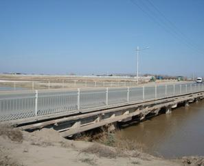 Technical condition inspection of the bridge across the Karakum Canal in the alignment of Andalib street in Ashgabat