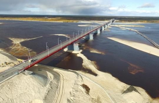 Construction of a section of a public highway of regional or intermunicipal significance of the Yamal-Nenets Autonomous Okrug Korotchaevo-Krasnoselkup, including a bridge over the river Pur